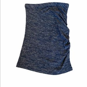 NWOT BANANA REPUBLIC Soft Ruched Side Tube Top S